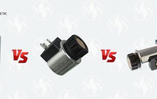 solenoid coil and solenoid compsrison