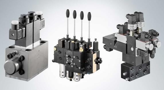 HAWE multi-directional spool valve